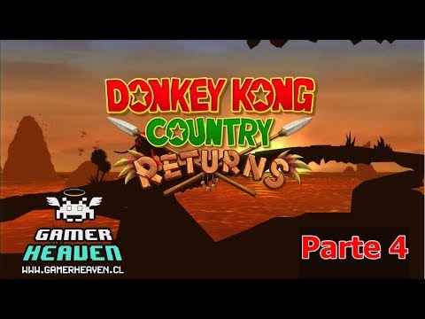 Donkey Kong Country Returns parte 4 | RetroGamingPlus