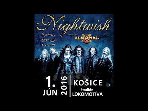 DAVID READMAN - VLOG! ALMANAC TOUR - NIGHTWISH FESTIVAL KOSICE/SLOVAKIA 2016.