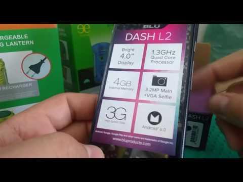 Celular Blu Dash L2 Apresentação
