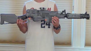 mod halo sniper rifle replica nerf slingfire modification