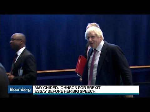 May, Johnson Underline Brexit Tension, Says Posen