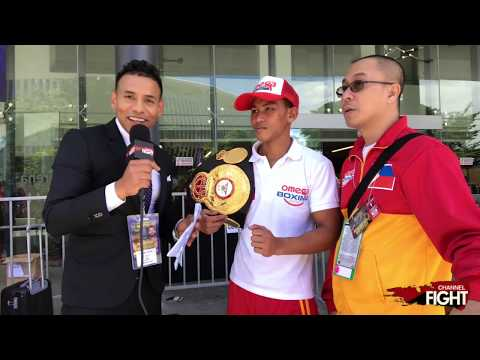 WBA Featherweight Champ Jhack Tepora  interview