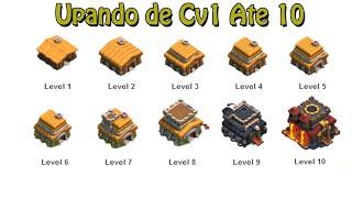 Clash Of Clans - Upando de CV 1 Ate 10
