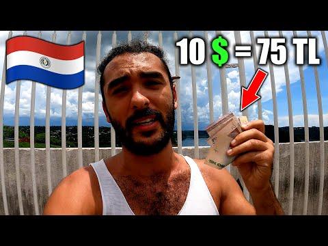 Paraguay'da 10$'a Neler Alınabilir? 🇵🇾 ~336