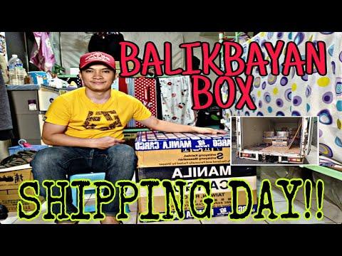 BALIKBAYAN BOX SHIPPING DAY!!   PART2   MANILA CARGO