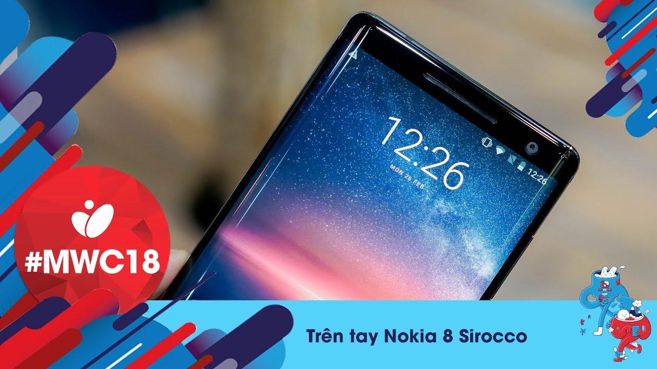 Trên Tay Nokia 8 Sirocco