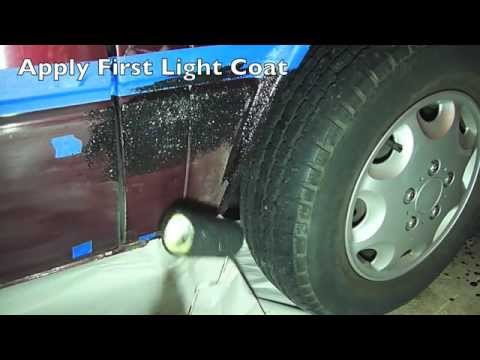 How To Prep And Apply Truck Bed Liner - Bed Liner Paint Kit - Truck Bedliner Coating