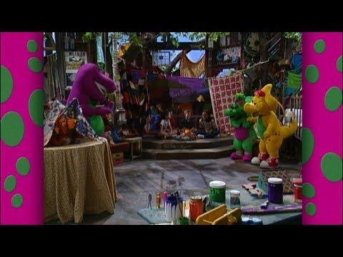 Stick with Imagination! (International) | Barney & Friends