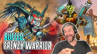 (Hearthstone) Buffed Frenzy Warrior