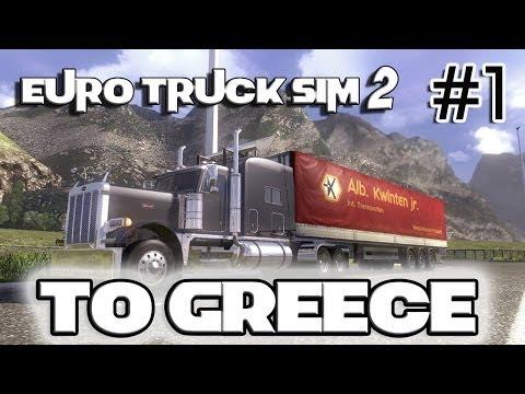 Euro Truck Simulator 2 - To Greece TSM 4.5.9 (Perterbilt 379) 1/2