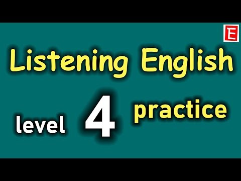 English Listening Practice Level 4 😎 Listen English everyday to Improve English Listening Skills 👍