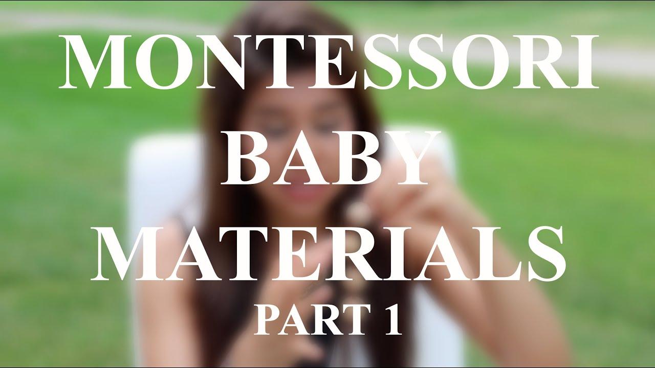 Montessori Baby Materials/Toys | Part 1