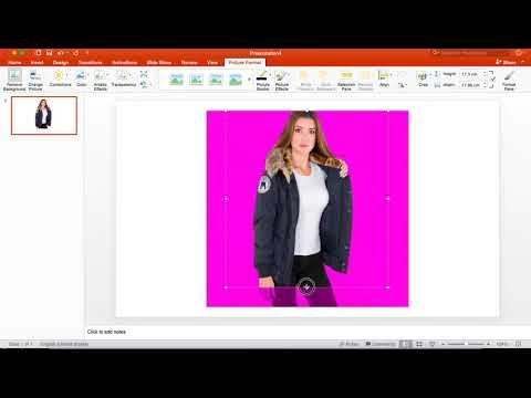 حذف خلفية الصور باستخدام الباوور بوينت Power Point Youtube