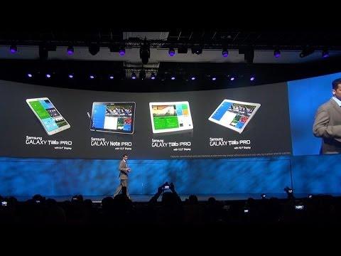 CES 2014: новинки Samsung Electronics - телевизоры, планшеты, бытовая техника и фотокамеры