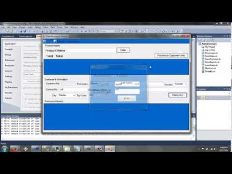 Initial Design For Point Of Sale And Inventory System Youtube
