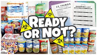 4 Week PANDEMIC QUARANTINE Grocery Haul | HOW TO PLAN and ORGANIZE