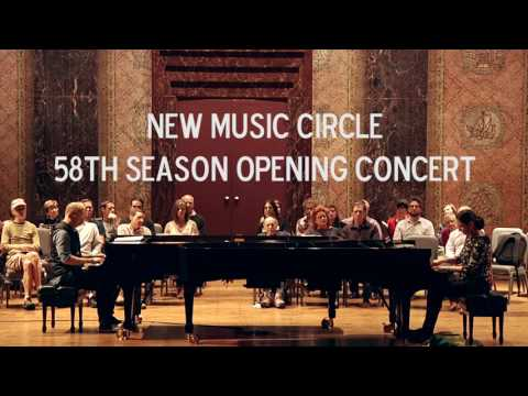 New Music Circles 58th Season Opening Concert