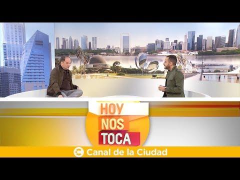 """<h3 class=""""list-group-item-title"""">Conversación y café con Adrián Iaies en Hoy nos toca</h3>"""