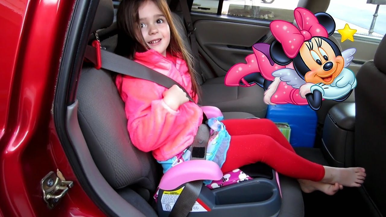 Minnie Mouse Booster Car Seat Review