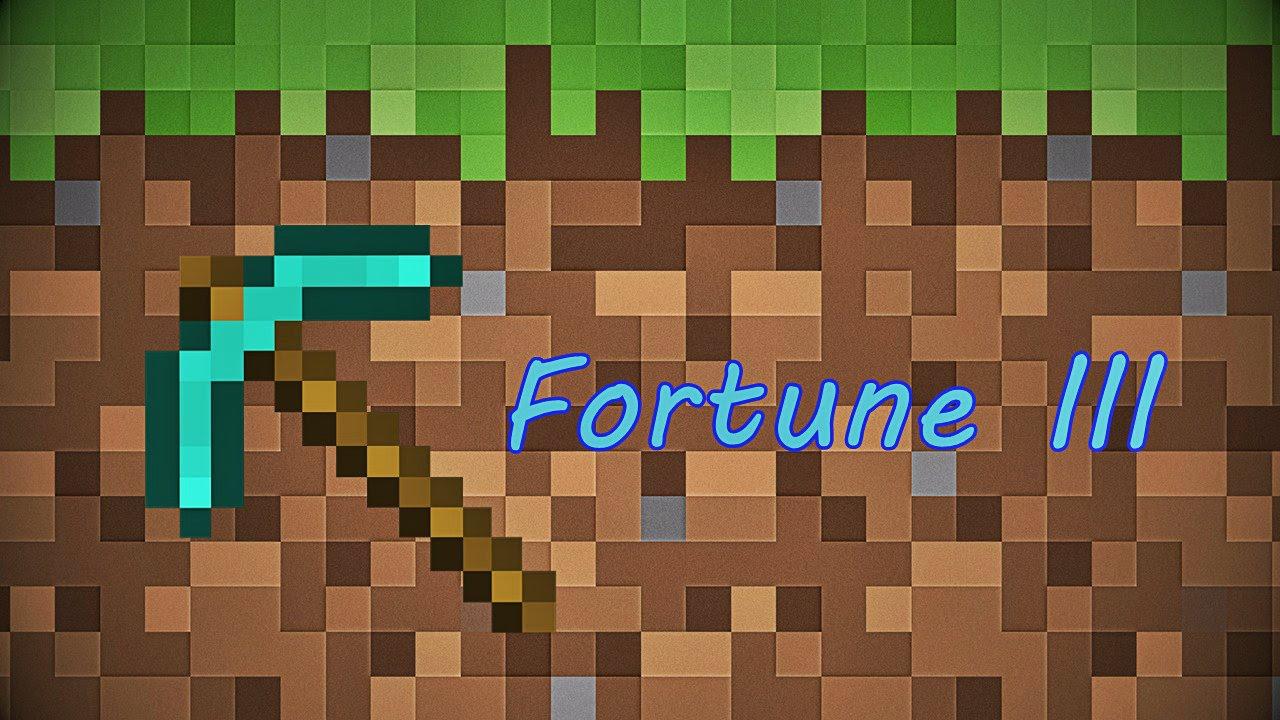 วิธีหา Fortune 3 เพื่อขุดเพชร