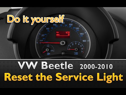 VW Beetle Service Light Deactivation/Reset guide
