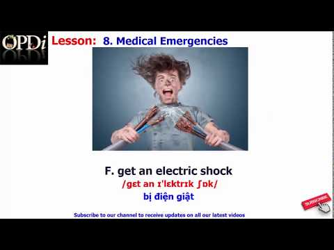 Oxford dictionary | 8. Medical Emergencies | Oxford picture dictionary 2nd edition