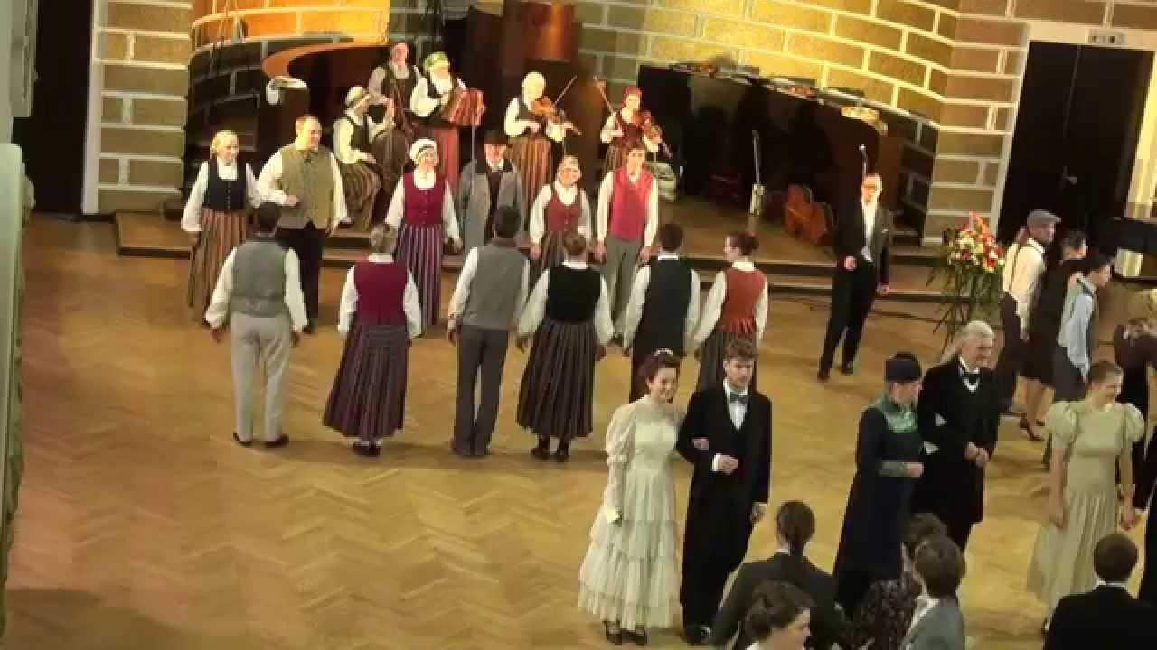00700 Folkloras mūzikas un deju kopas DANDARI 35 g. jubilejas kadriļu balle. Balabaska un Aleluja