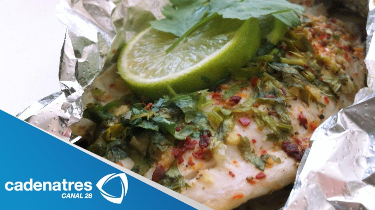 Receta para preparar pescado al vapor con cebollitas y for Cocinar quinoa al vapor