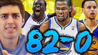 82-0 CHALLENGE - 2017 GOLDEN STATE WARRIORS WITH KEVIN DURANT! NBA 2K16 MY LEAGUE