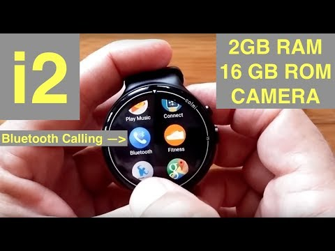 ColMi I2 Android 5.1 2GBRAM/16GBROM BT Calling Smartwatch (like IQI I4 Air): Unboxing & Review