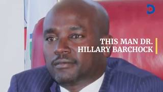 This man DR. Hillary Barchok, Profile of the new Bomet Governor