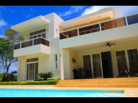 modern luxury dream villas built to order in sosua dominican republic real estate youtube. Black Bedroom Furniture Sets. Home Design Ideas