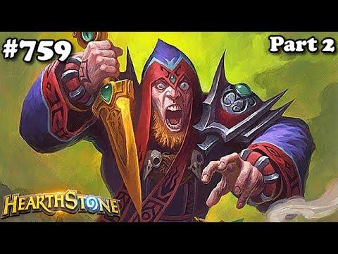 Hearthstone C'thun Rogue S39 Parte 2 Standard #759 - Ladino C'thun