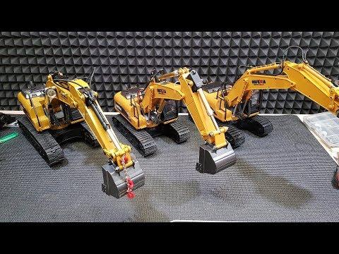Делаем ТЯЖЕЛЫЙ и МОЩНЫЙ экскаватор ... Тюнинг Huina 1550. Upgrade rc excavator