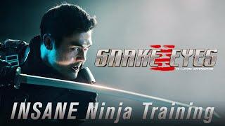 INSANE Ninja Training | Snake Eyes