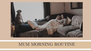 MUM MORNING ROUTINE | Morning routine with a baby