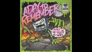A Day to Remember - Attack of the Killer B-Sides *FULL EP*