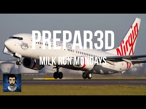 Milk Run Monday - Flying Sydney to Melbourne online in the Boeing 737