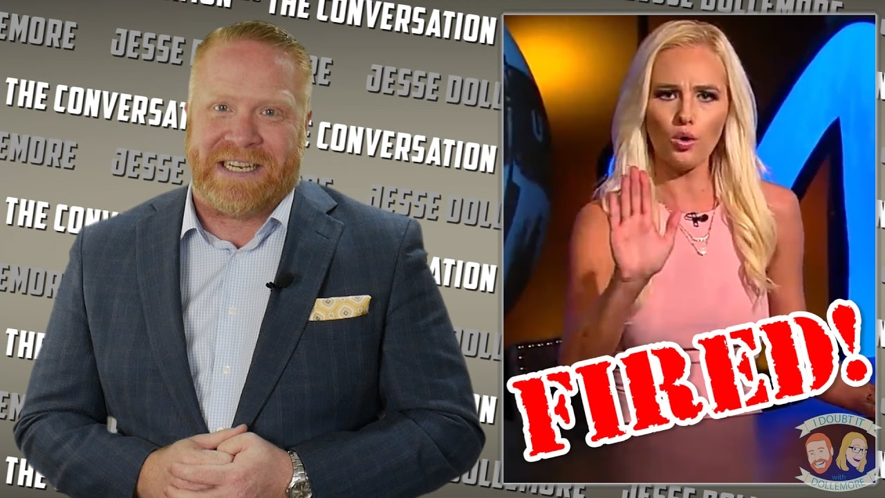 fb1794cf8d Tomi Lahren - FIRED from The Blaze by Glenn Beck! Jesse s Conflicted ...