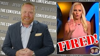 Tomi Lahren - FIRED from The Blaze by Glenn Beck! Jesse's Conflicted.