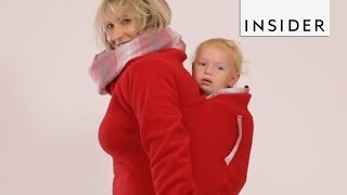 Winter Coat Fits Parent and Baby
