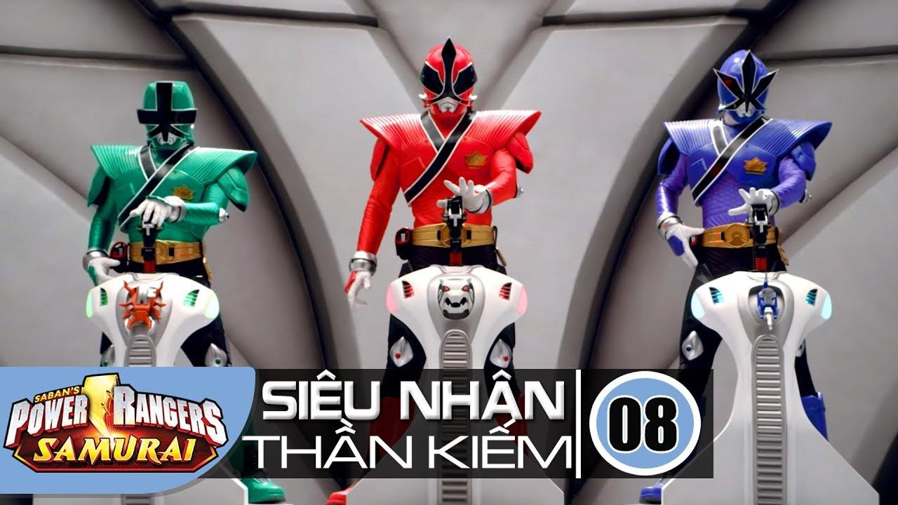 Siêu Nhân Siêu Chiến Binh Thần Kiếm Tập 8 : Thiên Không Hợp Nhất - Power Rangers Samurai