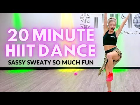 20 Min Cardio & Toning HIIT Dance Workout Full of Sass, Sweat and FUN | The Studio by Jamie Kinkeade