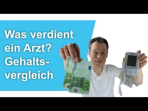 Was VERDIENT Ein ARZT? Gehaltsvergleich Ärzte (Medizin Studieren, Medizinstudium) // M. Wehrle