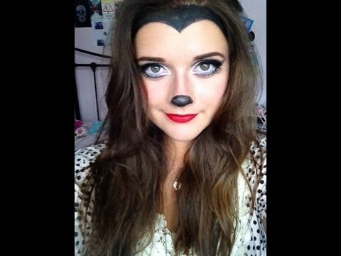 Halloween   Minnie Mouse Makeup Tutorial   EmmasRectangle - YouTube