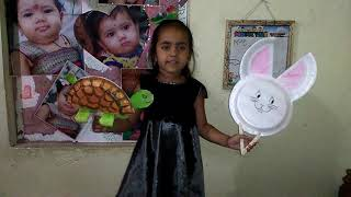 English Story telling competition for nursery ... The hare and The tortoise