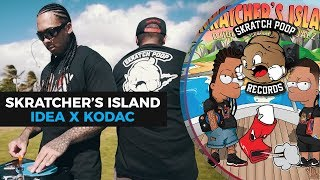 dj idea x kodac visualz present skratchers island 2 portablist scratch video