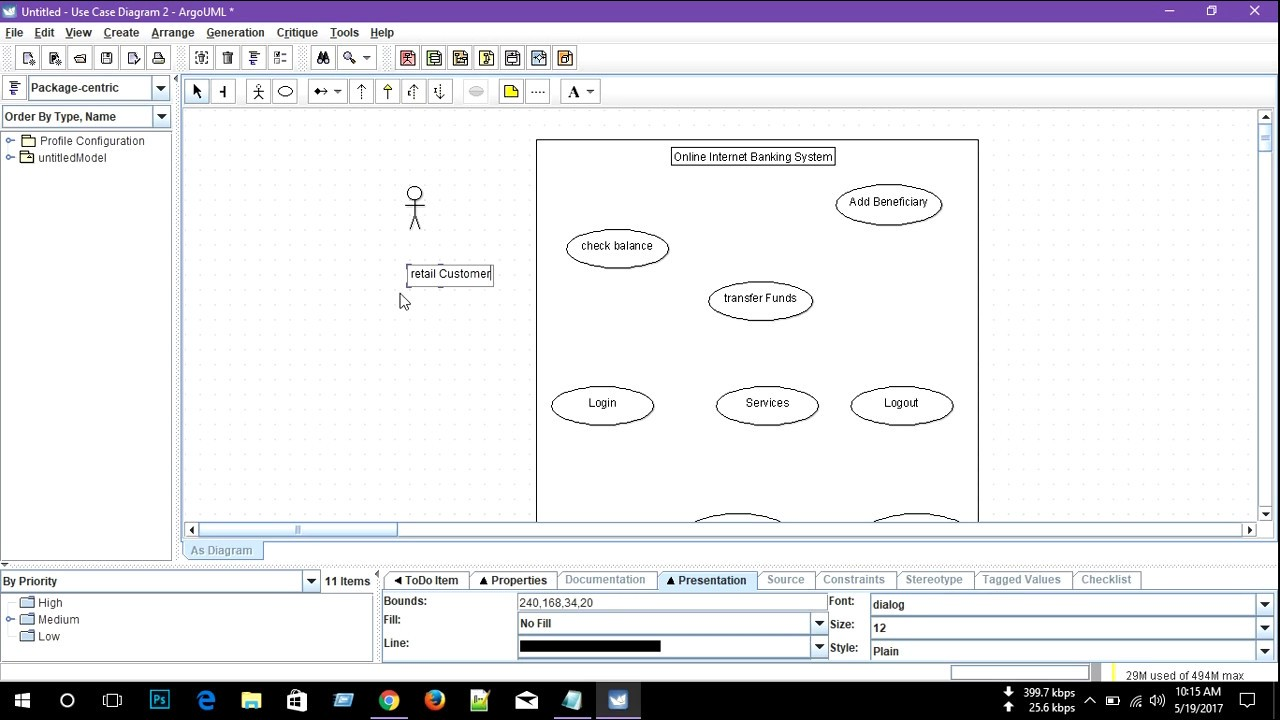 use case diagram for online internet banking system - Software To Create Use Case Diagrams