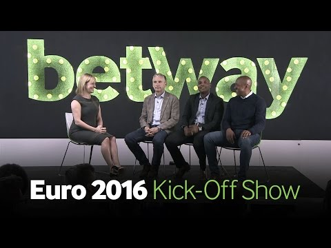 Betway Euro 2016 Kick-Off Show with Kelly Cates, Alan Smith, Dion Dublin & Clinton Morrison