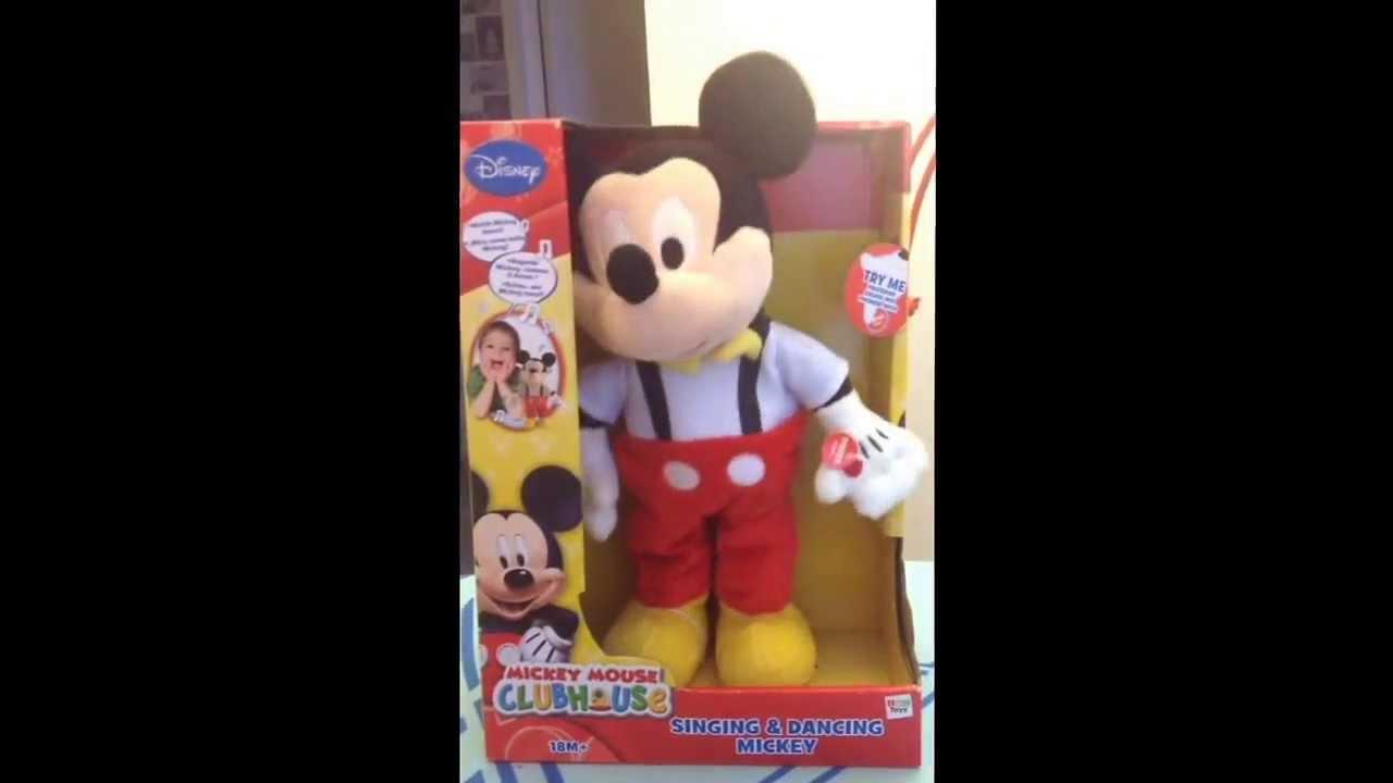 Mickey chante et danse youtube - Danse de mickey ...
